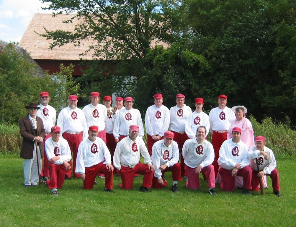 photo of Quicksteps base ball club